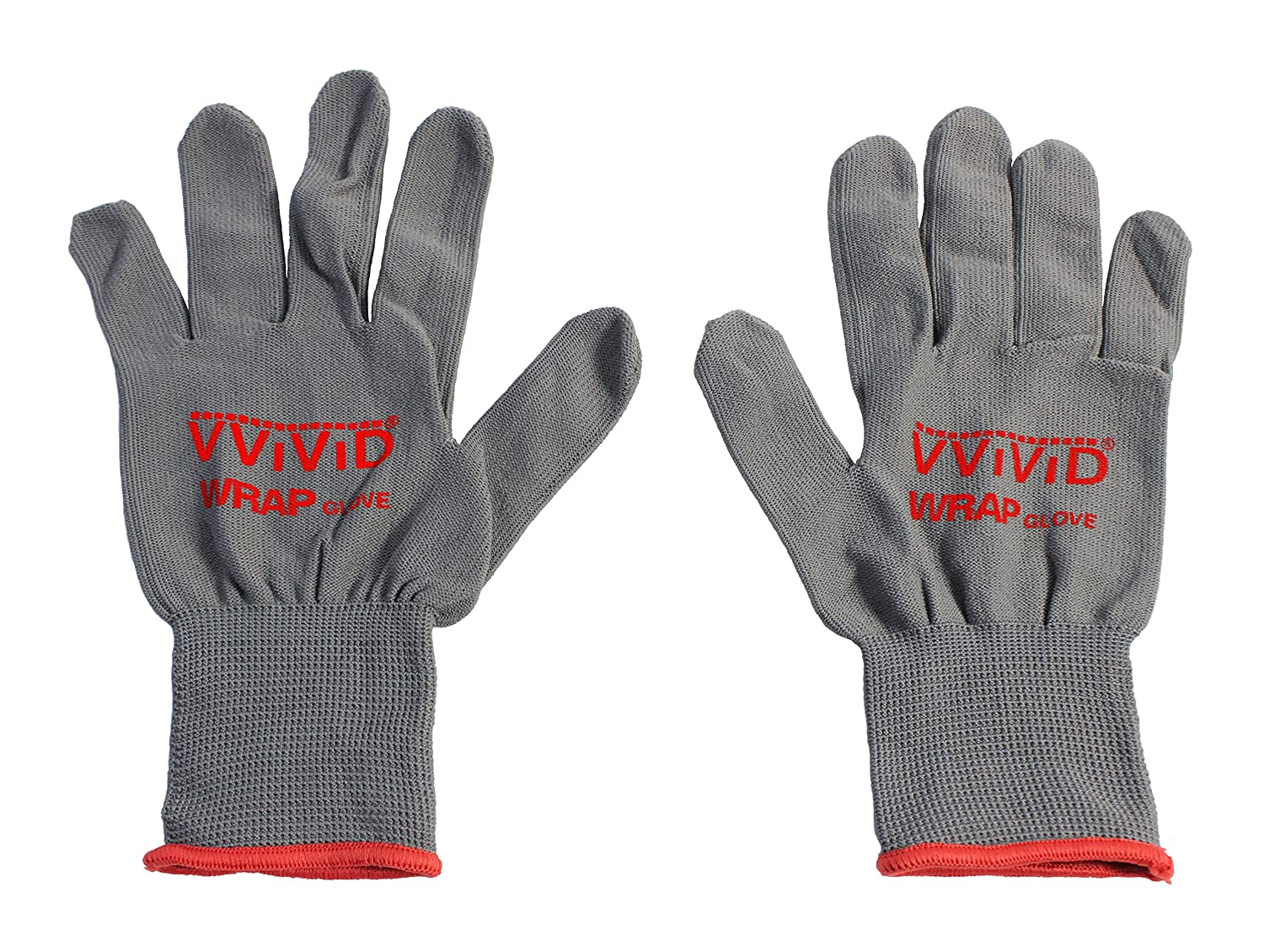 Image of VViViD Grey Professional Vinyl Wrap Anti-Static Applicator Glove Pair (2 Glove Pack)