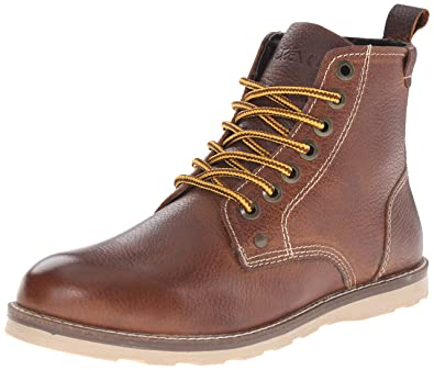 Crevo Men's Ranger Winter Boot, Caramel Leather, ...