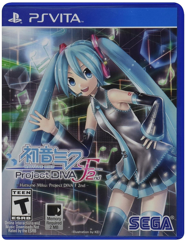Hatsune Miku: Project Diva F 2nd - PlayStation Vita
