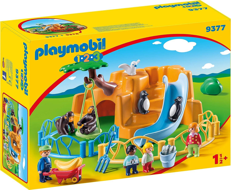 Playmobil 123 1.2.3 Lion Et Lionne Zoo Arche De Noe Safari le Lot