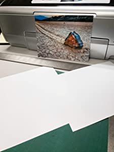 "8"" X 10"" Cold Press Watercolor Fine Art Inkjet Paper - 50 Sheets"