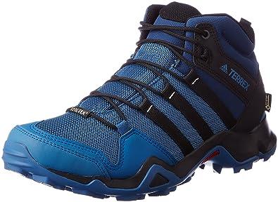 adidas Herren Terrex Ax2r Mid GTX Wanderstiefel, Blau ...