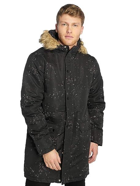 cute cheap price offer discounts Hype Black Splatter Men's Parka Jacket: Amazon.co.uk: Clothing