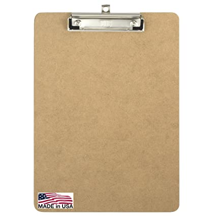 Amazon.: Officemate Recycled Wood Clipboard, Letter Size, Low