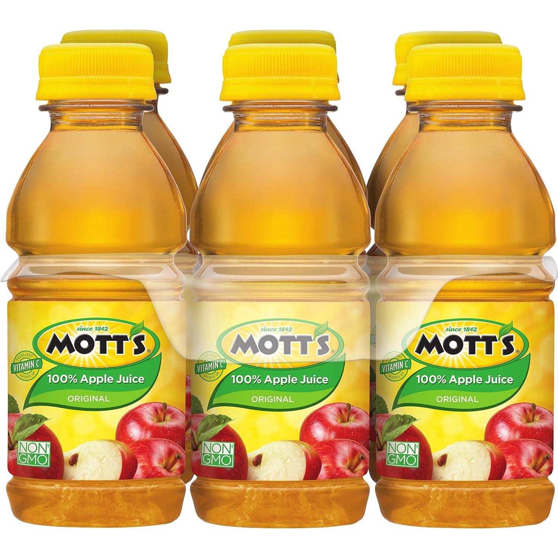 motts 100 original apple juice 8 fl oz bottles pack of