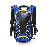 Juboury 15L Hadration Pack--Trinkrucksack mit 2L Trinkblase und Schutzabdeckung für alle Wetter zum Laufen, Wandern, Radfahren und für alle anderen Outdoor-Sportarten bei der Sie Flüssigkeit benötigen
