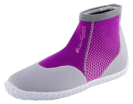 0b0b14322ef0 Amazon.com   NeoSport Premium Neoprene Low Top Pull On Boot Wetsuit ...