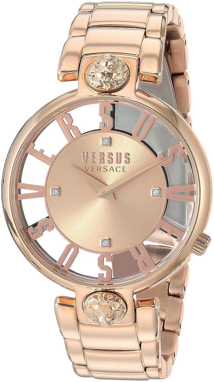 Versus by Versace Women s KRISTENHOF Quartz Watch with Strap, Rose Gold, 106 Model VSP490718