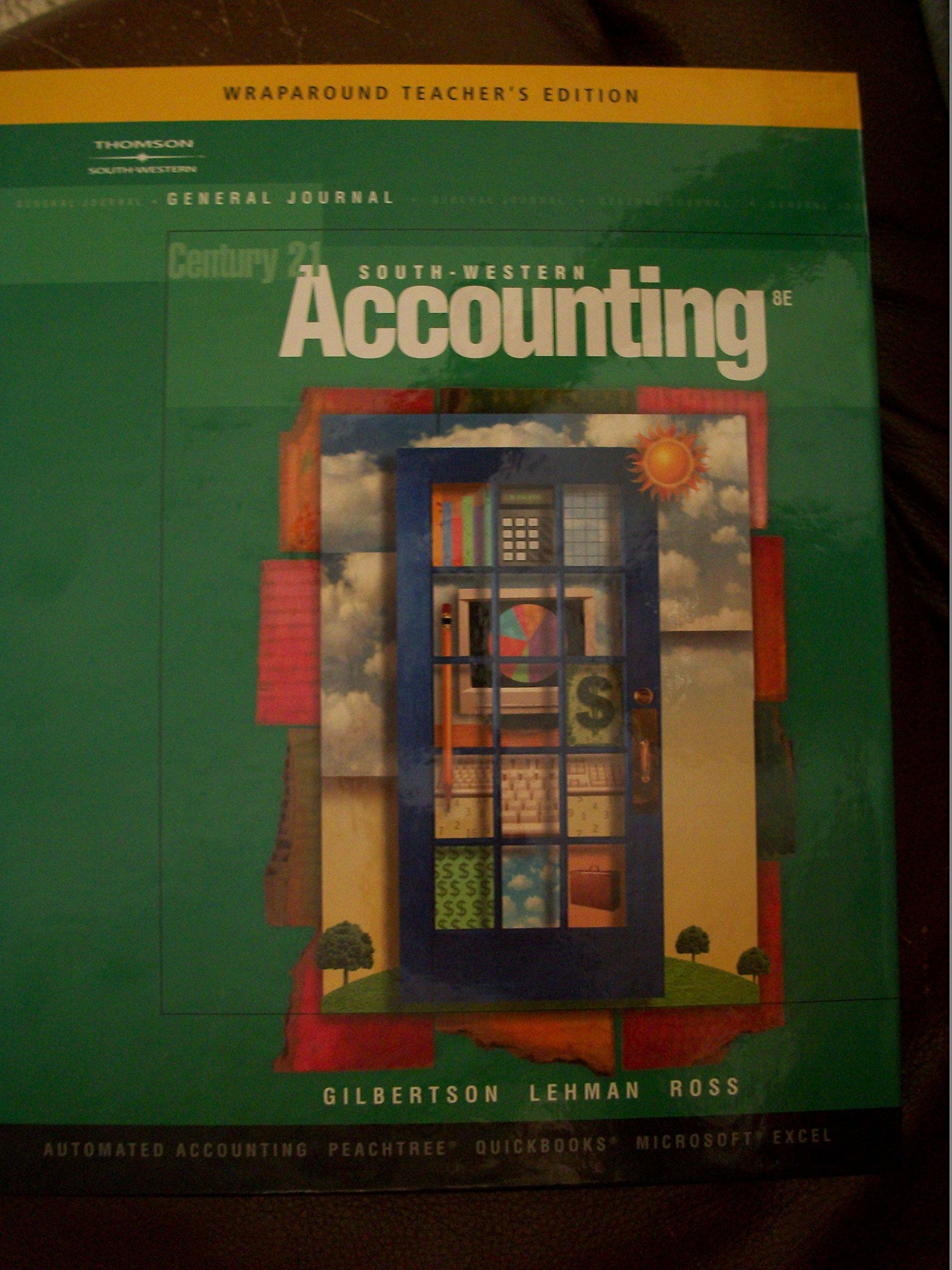 Century 21 south western accounting wraparound teachers edition century 21 south western accounting wraparound teachers edition gilbertson lehman ross 9780538972673 amazon books fandeluxe Choice Image
