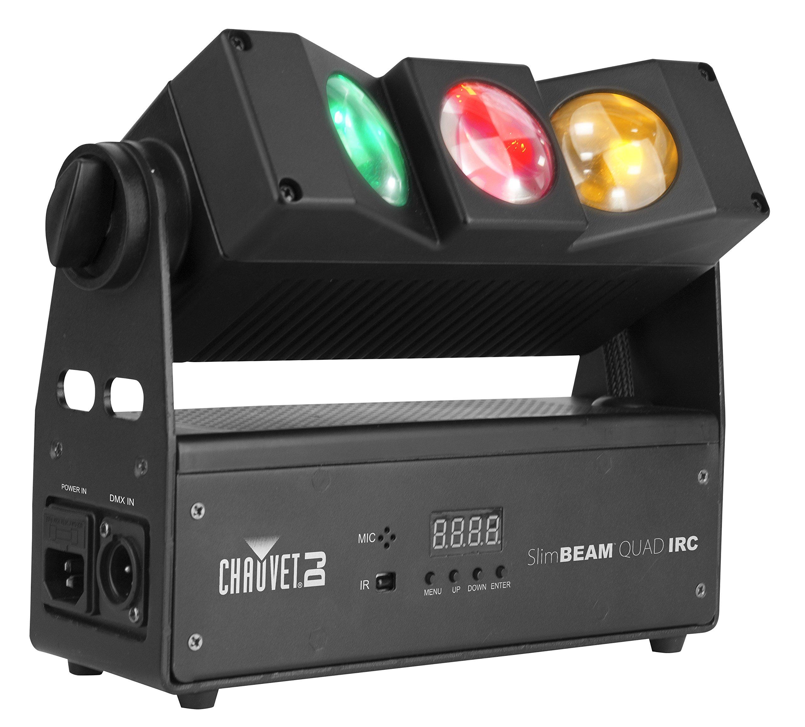 CHAUVET DJ SlimBEAM Quad IRC Effect/Wash DJ Light | LED Lighting