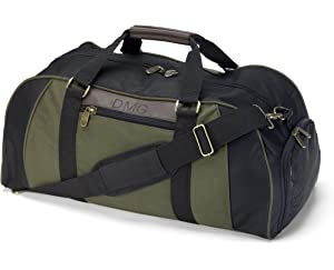 adffd7cec Men's Personalized Deluxe Duffel Bag For Gym, Travel With Shoe Compartment  - Monogrammed, Waterproof