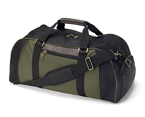 c0444c696a60 Image Unavailable. Image not available for. Color  Men s Personalized  Deluxe Duffel Bag ...