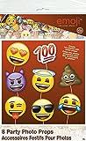 Emoji Party Supplies - Wink Emoji Pinata Party Game, Pull String