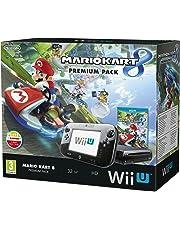 Nintendo Mario Kart 8 Wii U Premium Pack - juegos de PC (Wii U, IBM PowerPC, AMD Radeon, SD, 32 GB, 32 GB) Negro
