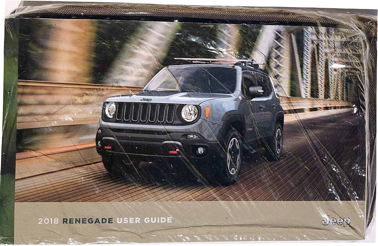 2018 JEEP WRANGLER OWNERS MANUAL USER GUIDE WITH STORAGE POUCH SEALED-