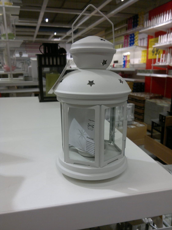 Ikea Totera - Lanterna per porta (bianco), per uso in interni ed esterni