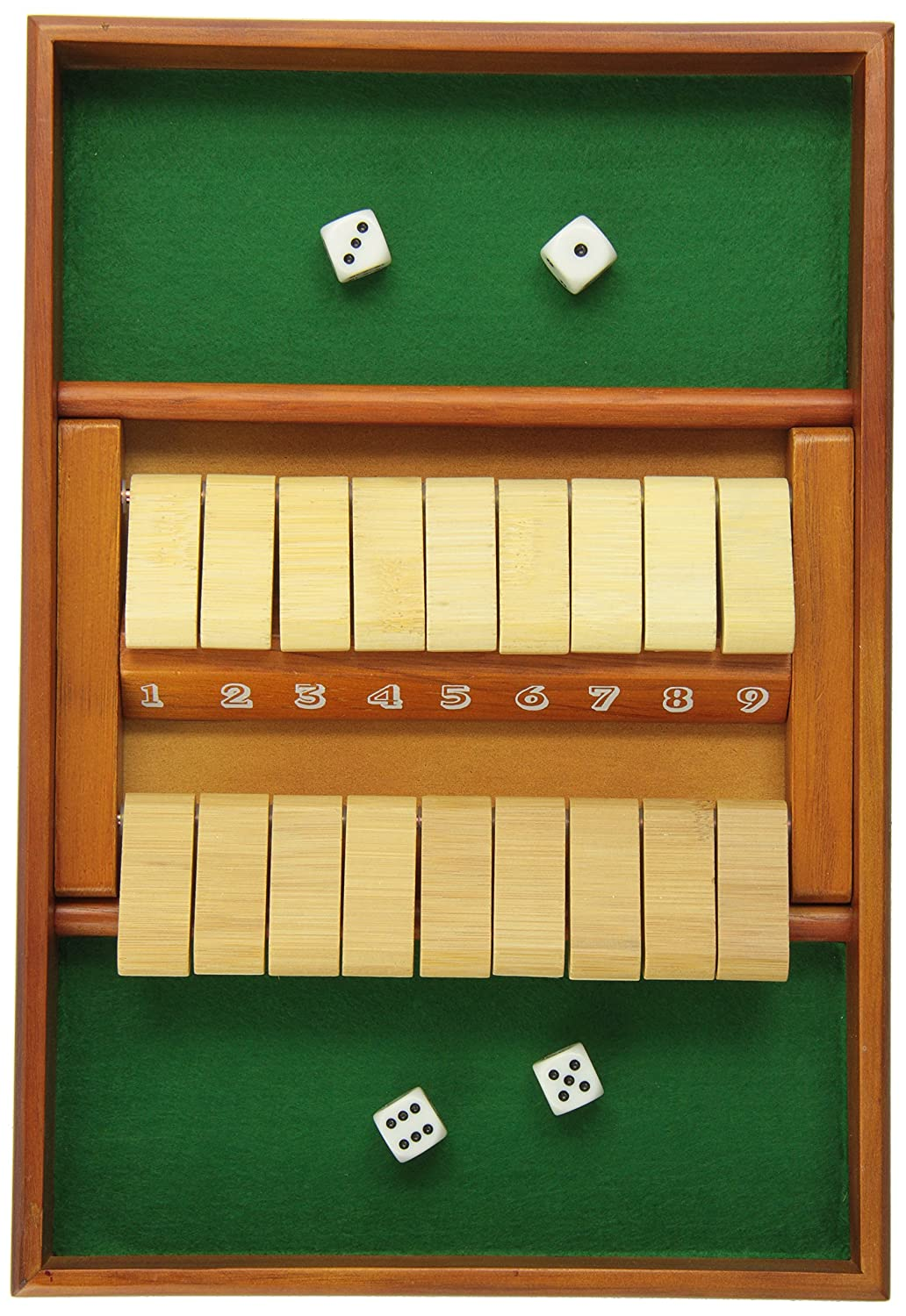 CHH Double Sided 9 Number Shut The Box Flat River Group CHH2805
