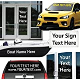 Amazoncom Inch Personalized Name Vinyl Decal Sticker For Car - Custom vinyl decals for trucks