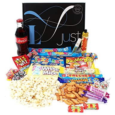 Retro sweets gift hamper with a twist just treats lunar gift box retro sweets gift hamper with a twist just treats lunar gift box jam packed negle Choice Image