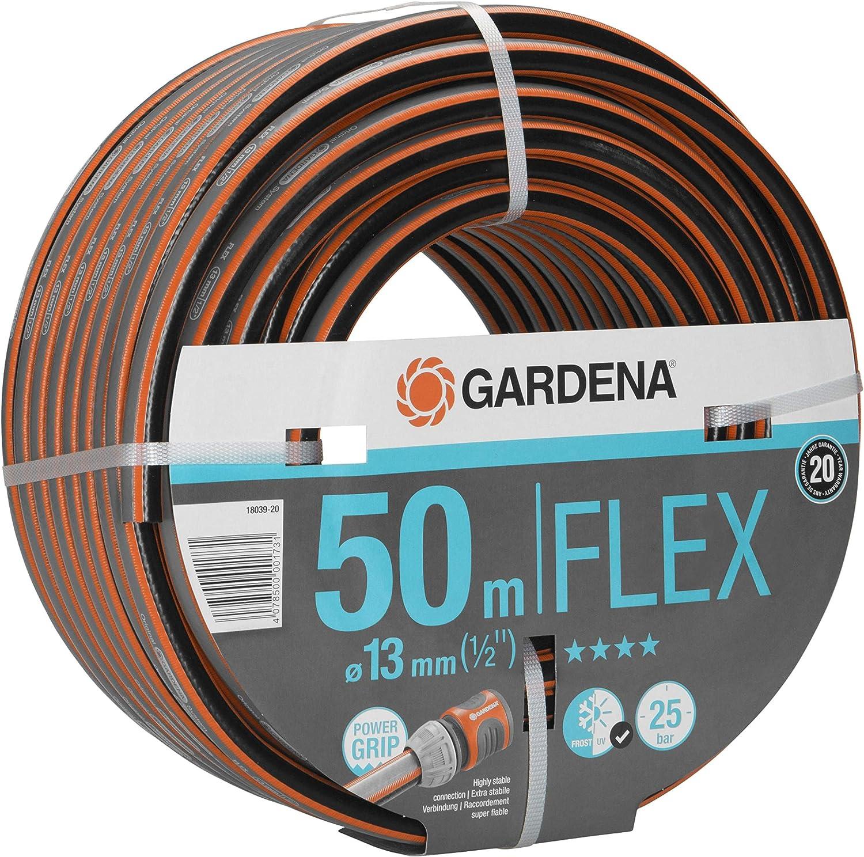Gardena Comfort Flex 50m Manguera de jardín (50 m, 25 Bar): Amazon.es: Jardín
