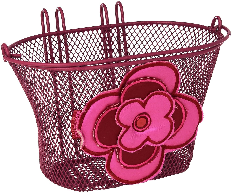 Basil Jasmin Bicycle Basket Red Pink Bike Baskets