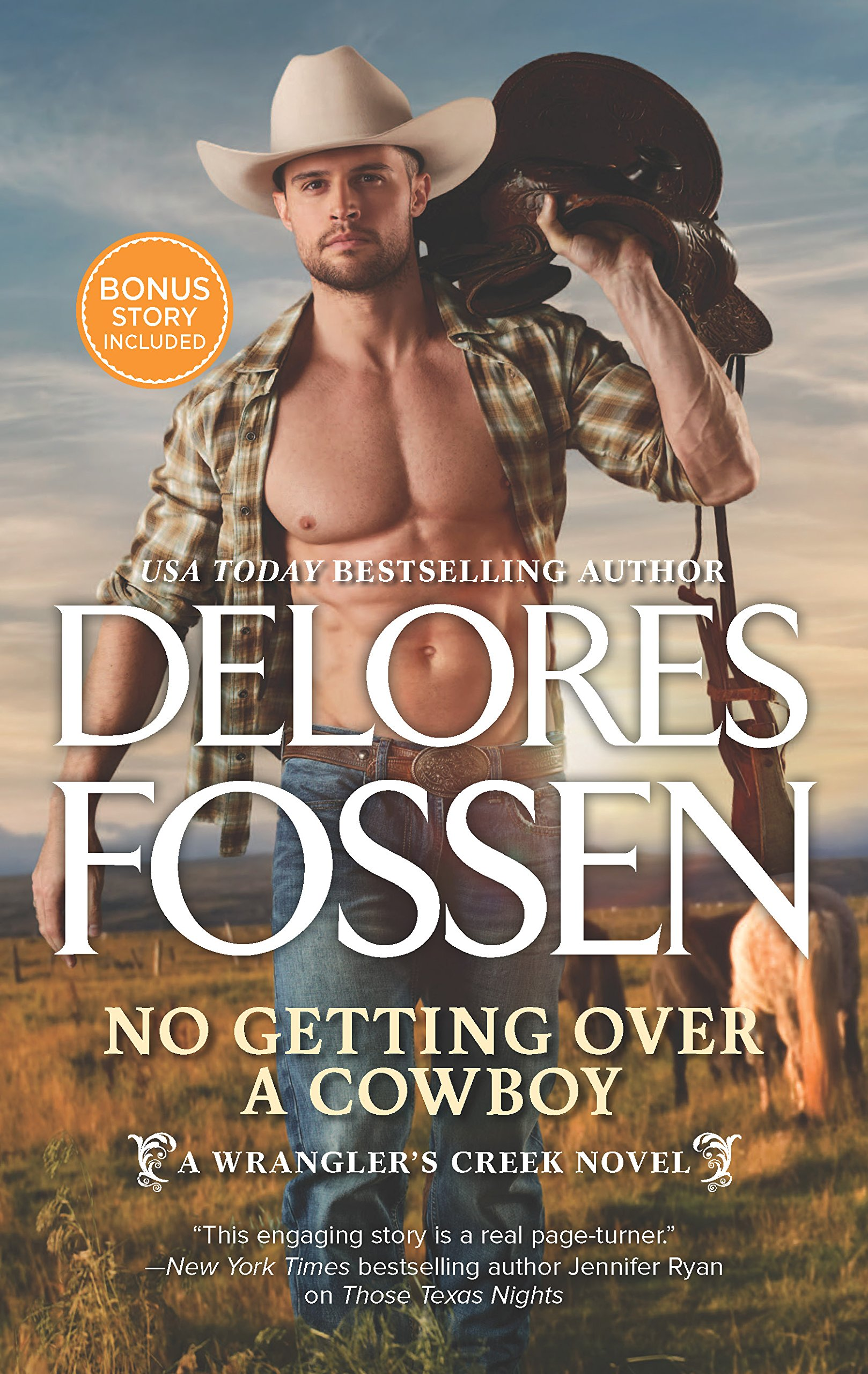 Read Online No Getting Over a Cowboy: A Western Romance Novel (A Wrangler's Creek Novel) pdf