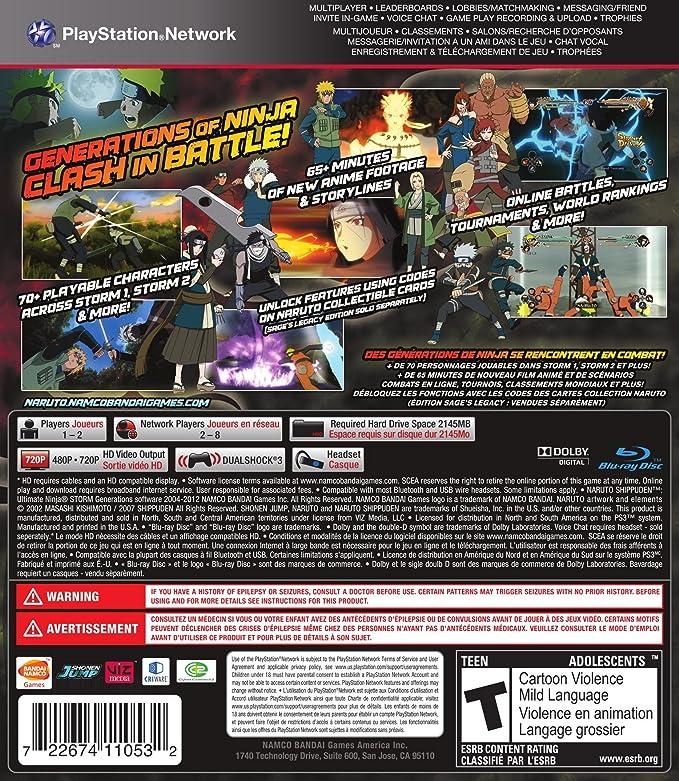 Namco Bandai Games Naruto Shippuden: Ultimate Storm ...
