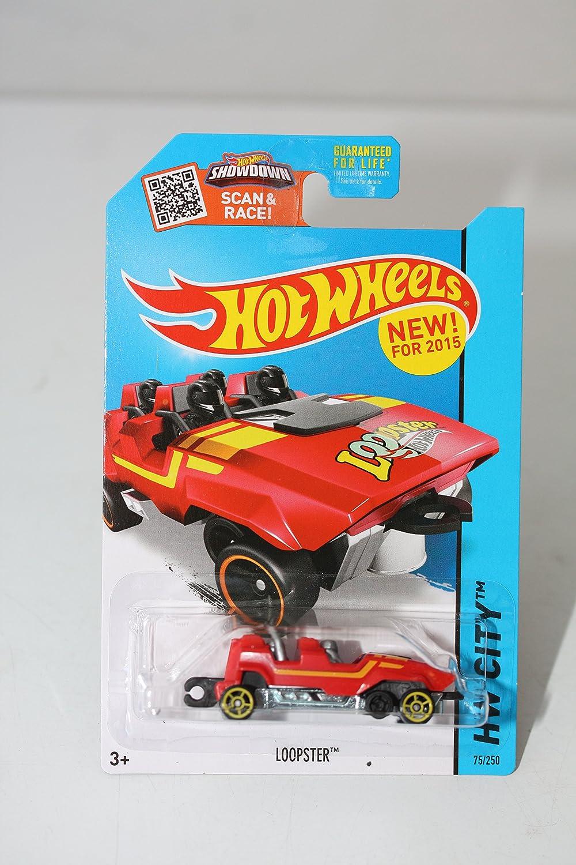 Hot Wheels Loopster Red Hands Up Version Die-Cast Vehicle #75//250 2015 HW City