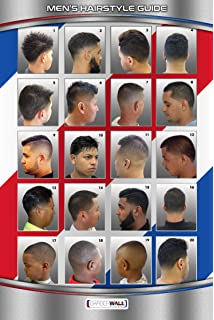 Amazon.com : 061HSM BARBER POSTER MEN\'S HAIRSTYLES : Beauty
