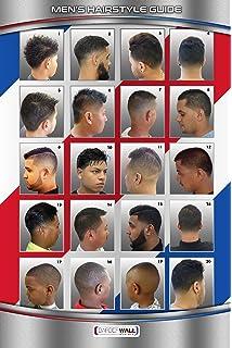 Amazon.com BarberShop Beauty Salon Haircuts Poster for Men