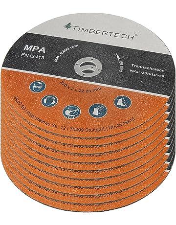 Disco 230 metal, Diámetro 230mm, Espesor 1mm, Diámetro Interior 22,23mm,