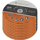 Timbertech - Set de 10 Disques à Tronçonner pour Meuleuse d'Angle (diamètre 230 mm)