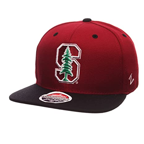 brand new 609d6 21da3 Image Unavailable. Image not available for. Color  ZHATS NCAA Stanford  Cardinal Men s Z11 Snapback Hat, Adjustable ...