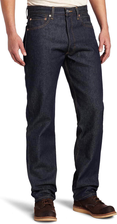Levi's Men's 501 Original Shrink-to-Fit Jeans at  Men's Clothing store