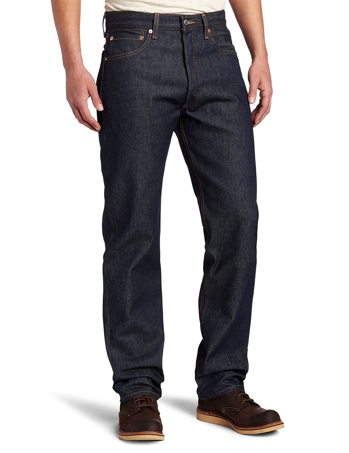 1ef69b6c779 Levi's Men's 501 Original Shrink-to-Fit Jeans at Amazon Men's Clothing store :