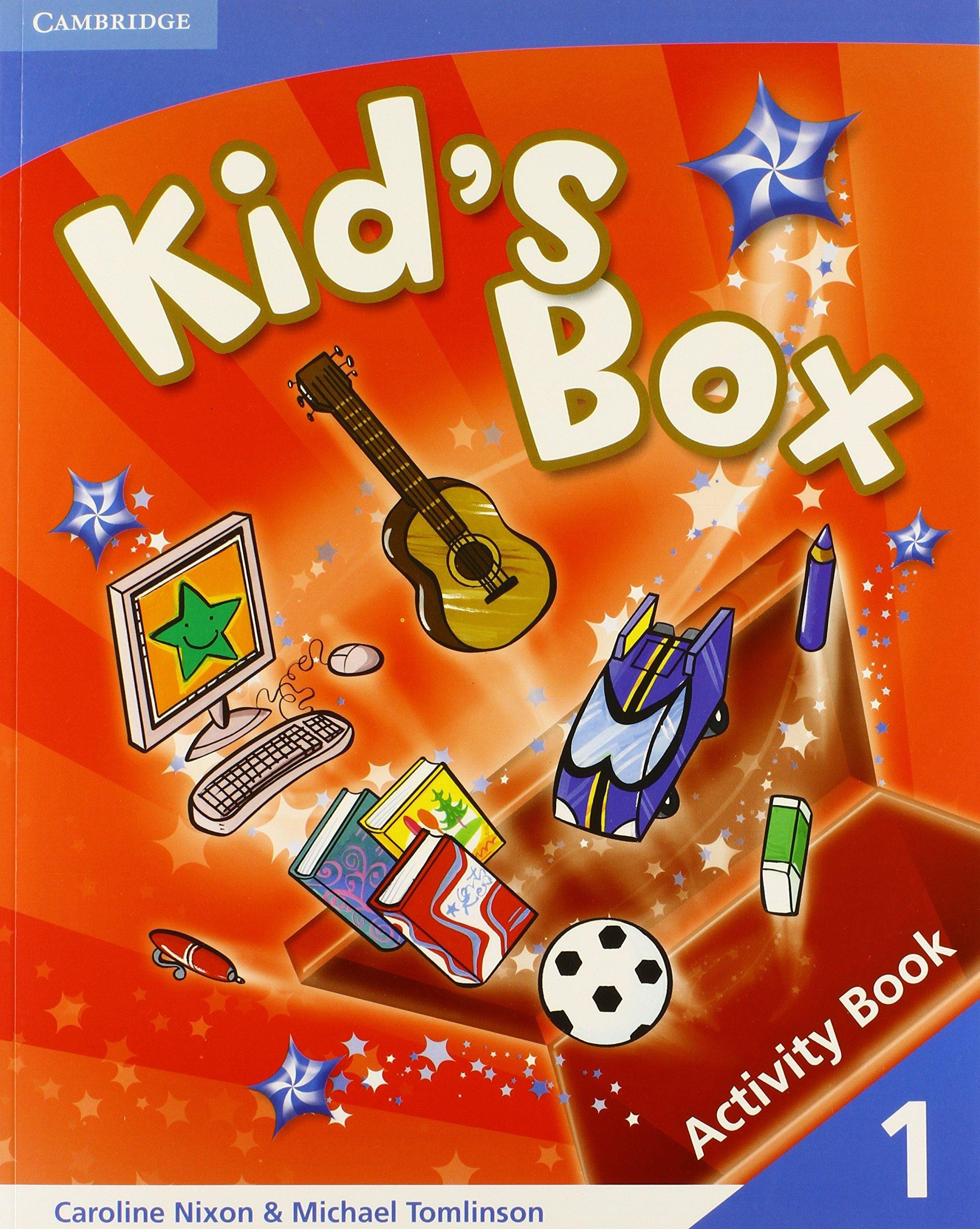 Kid's Box 1 Activity Book: Level 1 by Caroline Nixon 17-Jan-2008 Paperback:  Amazon.es: Caroline Nixon: Libros