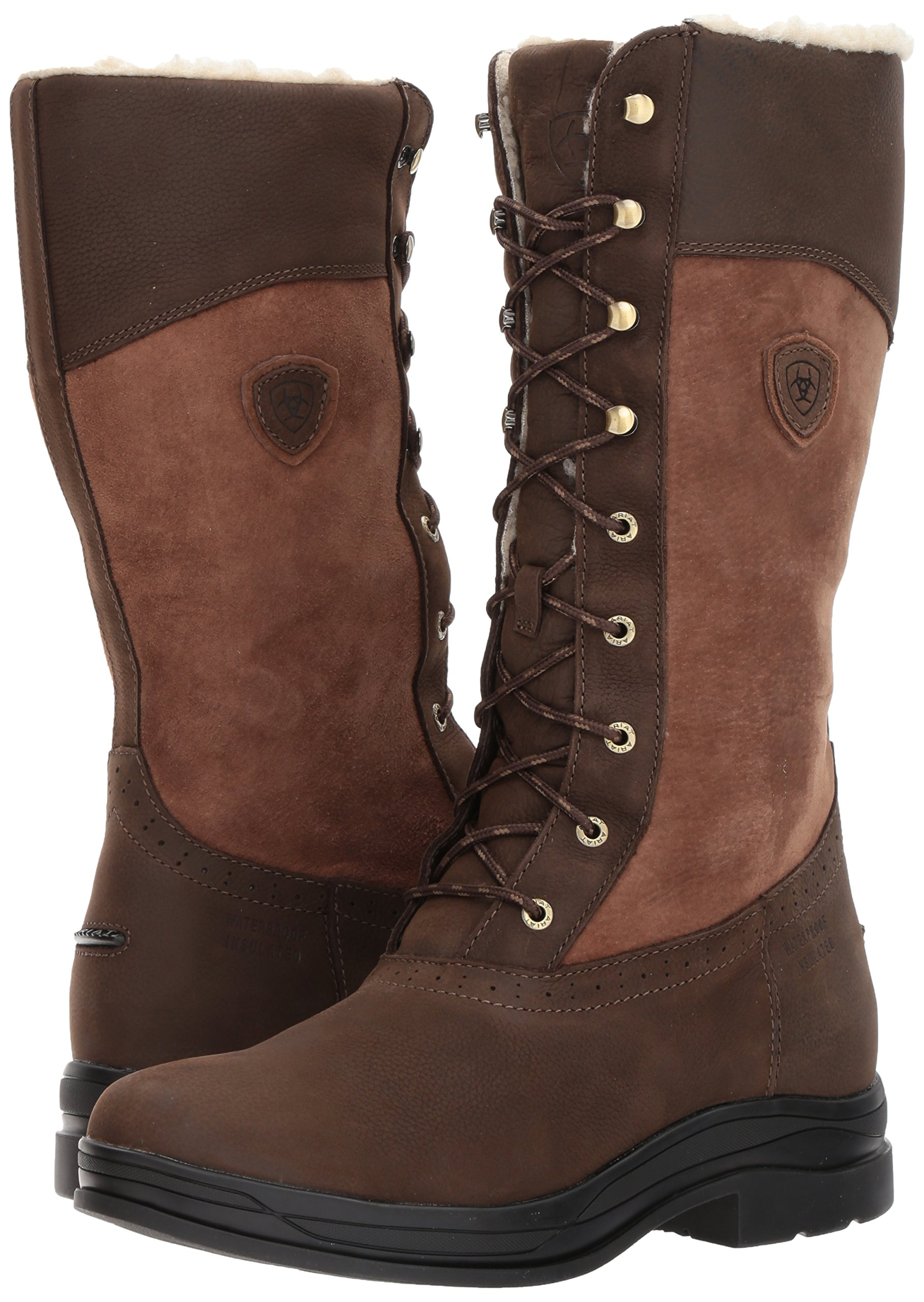 Ariat Women's Wythburn H2O Insulated Country Boot, Java, 7.5 B US by Ariat (Image #6)
