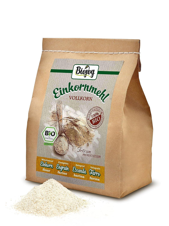 Harina de escanda integral (Triticum monococcum) (1 kg) : Amazon.es: Alimentación y bebidas