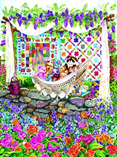 product image for Garden Hammock 1000 pc Jigsaw Puzzle by SunsOut
