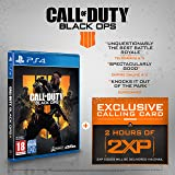 Call of Duty®: Black Ops 4 with 2 Hours of 2XP + an Exclusive Calling Card (Exclusive to Amazon.co.uk) - PlayStation 4 [Edizione: Regno Unito]