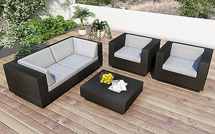 Amazon.com: Sonax z-203-tpp Park de patio, terraza y negro ...