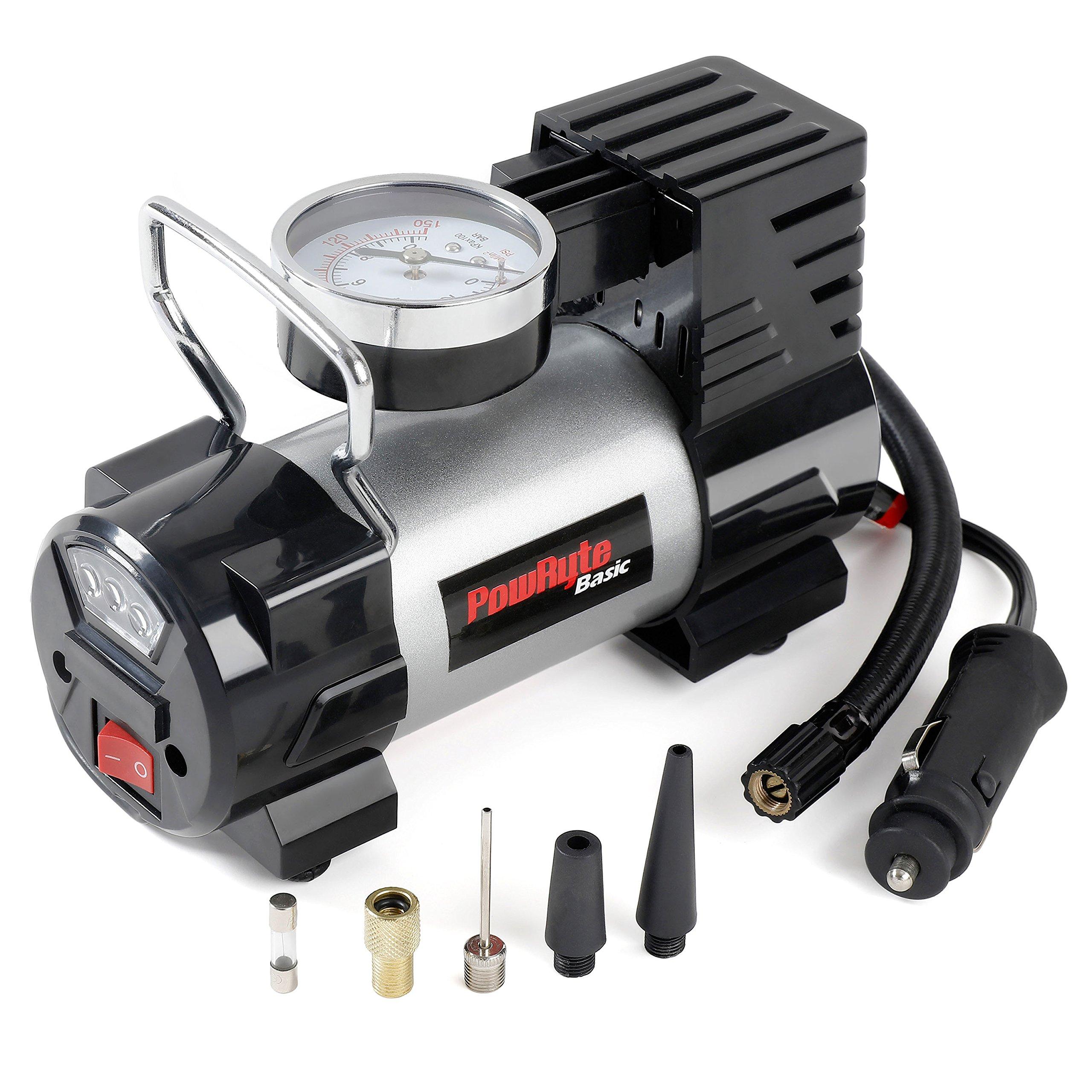 Portable Car Air Compressor Heavy Duty Inflator Tire Pump