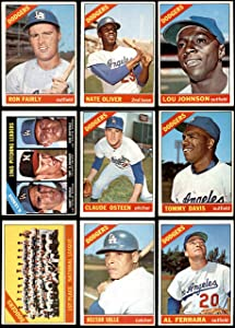 1966 Topps Los Angeles Dodgers Near Team Set Los Angeles Dodgers (Set) VG+ Dodgers