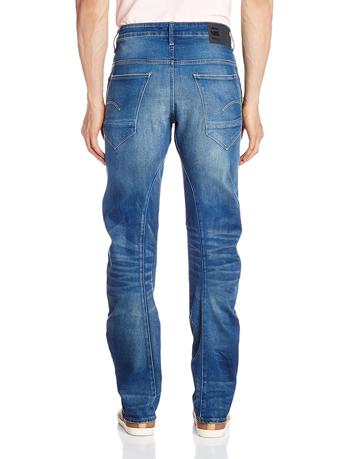 G-Star Raw Mens Arc 3D Slim-Fit Jean In Firro Denim