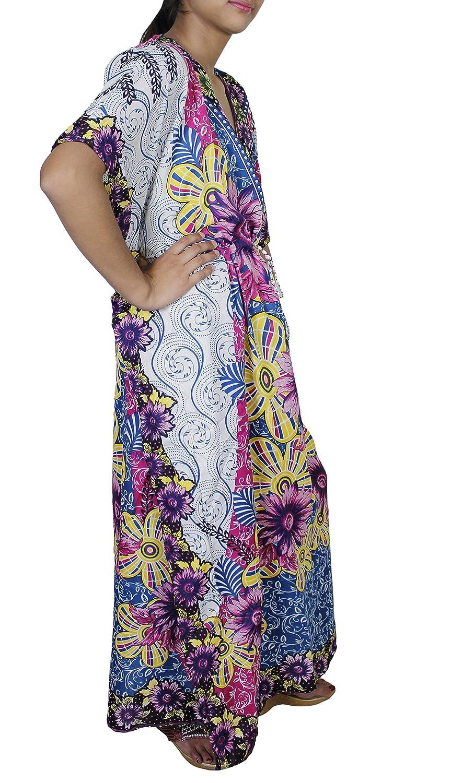 Style kimono robe caftan mode dété lattraction des femmes sur le dessus  vêtements de plage  12fe61b9ee2