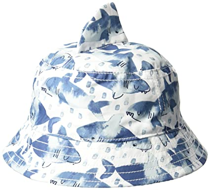 ce53b1a0721db Amazon.com  Gymboree Boys  Shark Bucket Hat  Clothing