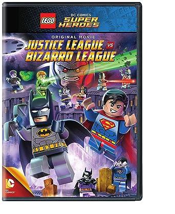 Amazon Com Lego Dc Comics Super Heroes Justice League Vs Bizarro League No Figurine Dvd Various Various Movies Tv
