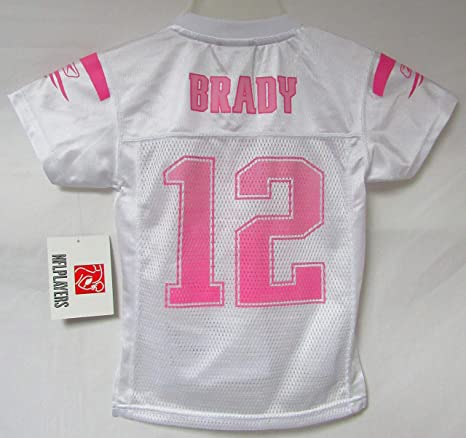 Image Unavailable. Image not available for. Color  Reebok New England  Patriots Youth Girls Size Small (4) Tom Brady  12 Jersey d910699c7