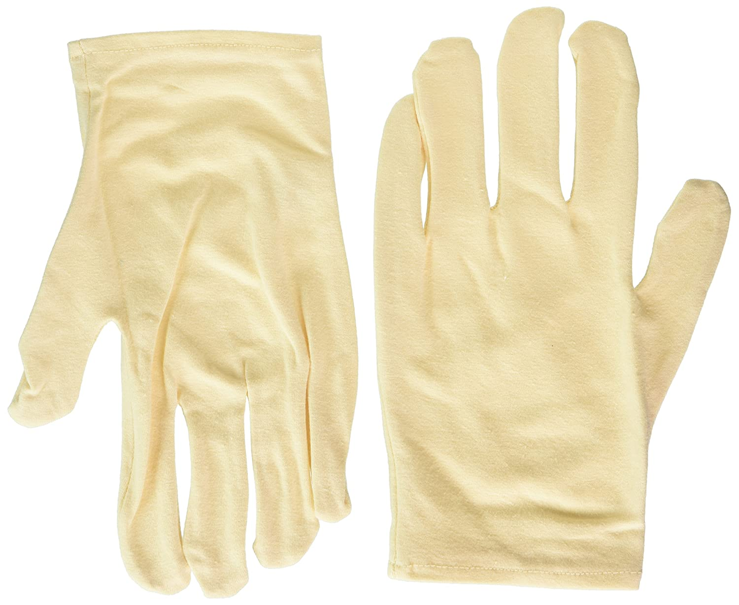 Earth Therapeutics Moisturizing Hand Gloves Solid Color-Natural 1 pair