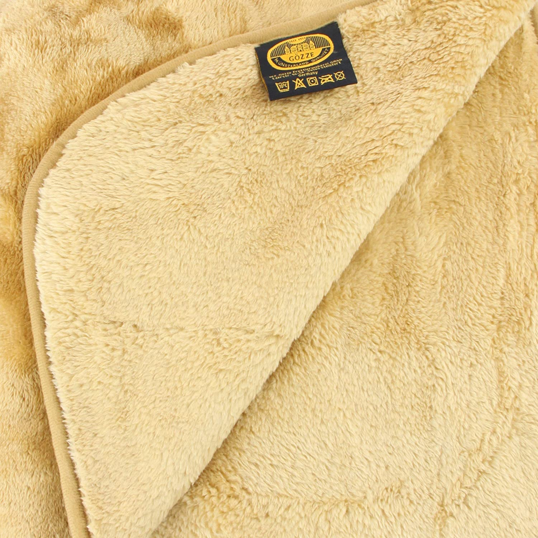 Cubrecama color marr/ón Amago 40024-32-1317 130 cm x 170 cm